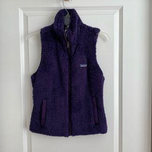 Patagonia Purple Los Gatos Fleece Vest